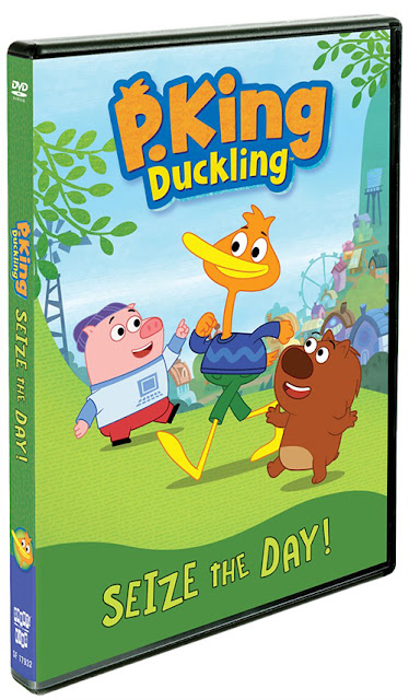 Shout! Factory: P. King Duckling: Seize The Day! DVD ~ #Review #Giveaway
