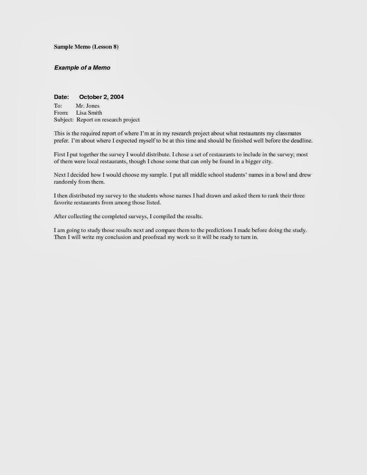 Write Memo Template appeal incident report 10 internal memo – Internal Memo Template