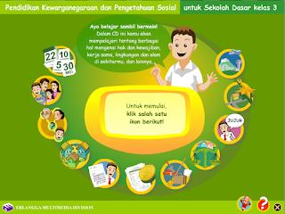 Media Pembelajaran Interaktif Pendidikan Kewarganegaraan dan Ilmu Pengetahuan Sosial