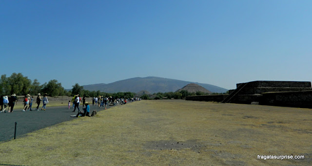 Avenida dos Mortos de Teotihuacán