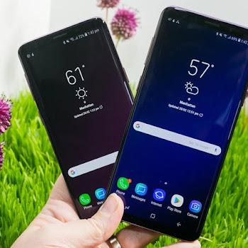 رصد مشكلة اللمس في شاشة Galaxy S9 من بعض المستخدمين