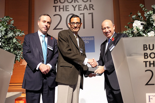 FT Goldman Sachs Book of the Year Award, Editor of the Financial Times, CEO of Goldman Sachs Group