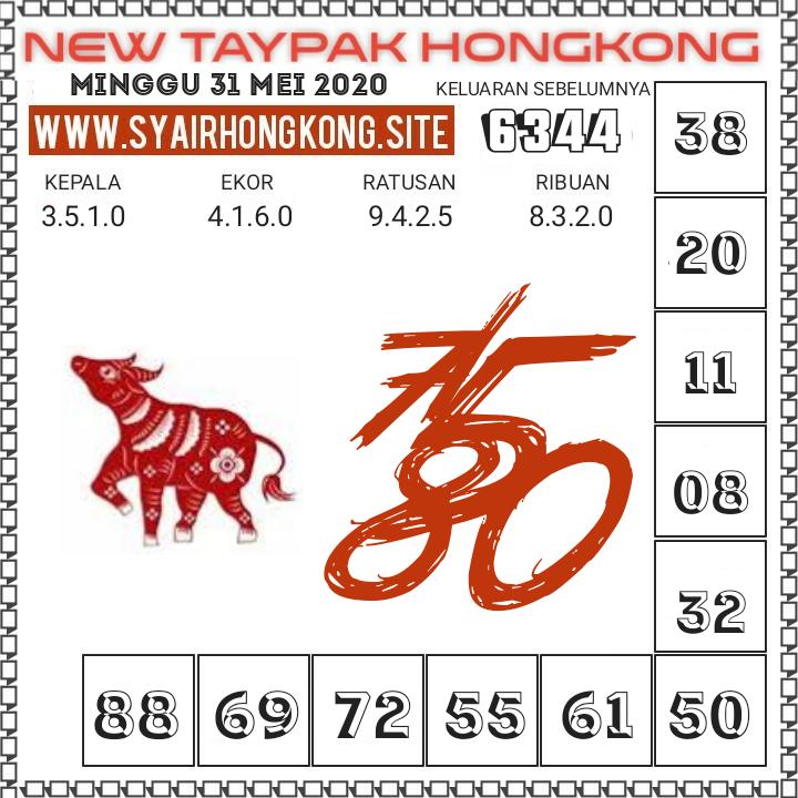 Prediksi Syair HK 31 Mei 2020