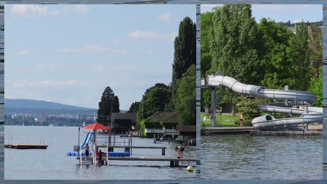 Fun Slides on Zurich Lake