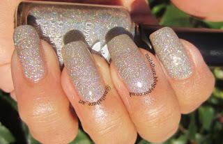 Lilypad Lacquer Diamond in the Rough Champagne Glitter Nail Polish