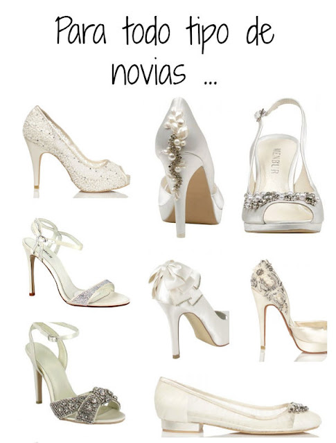 zapatos de novia sandalias cuña boda bride wedding