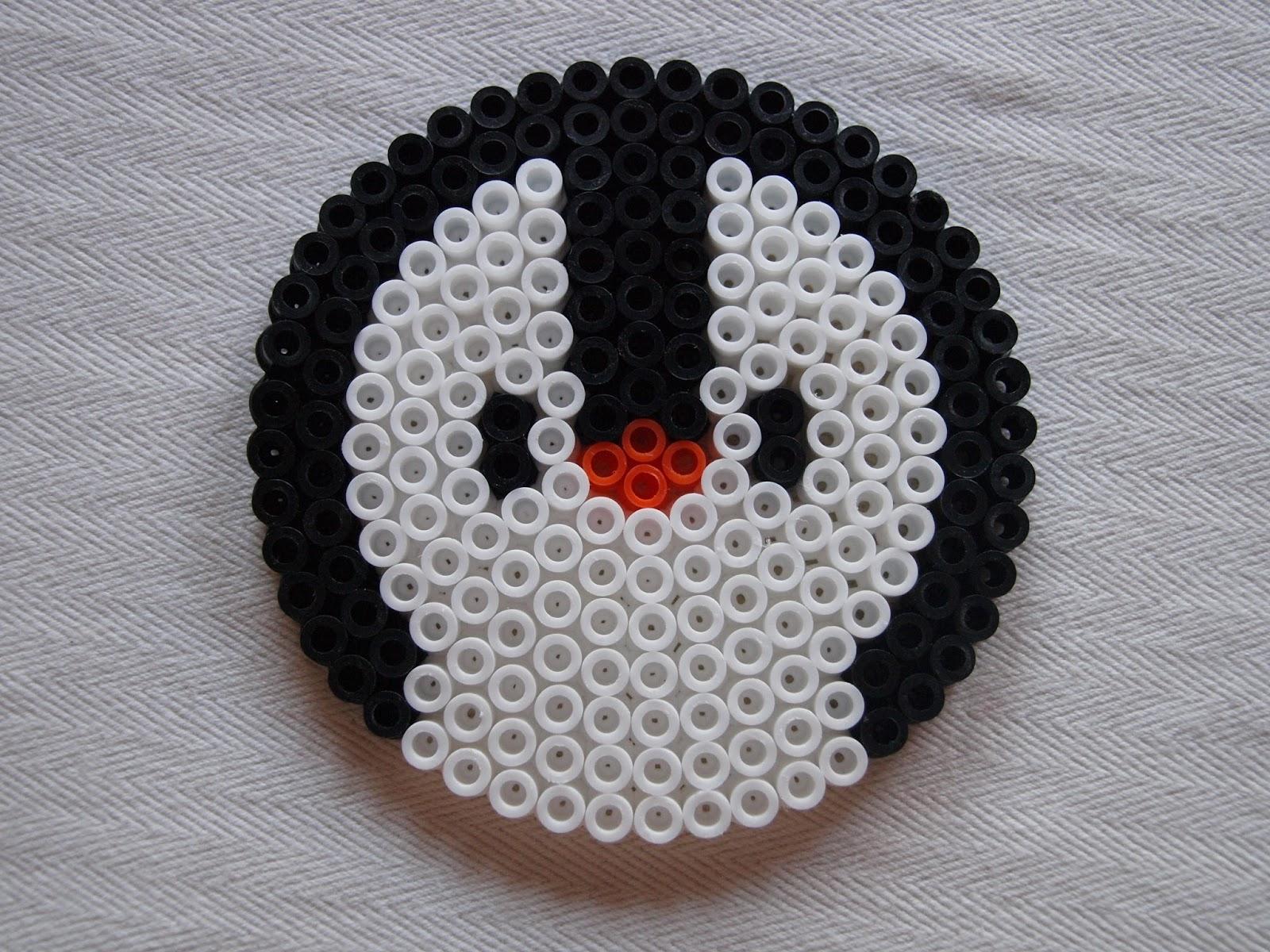Bugelperlen Vorlage Pinguin Kiki Die Kinderkiste