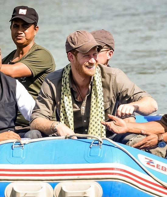 VJBrendan.com: Prince Harry Visits Leorani, Nepal