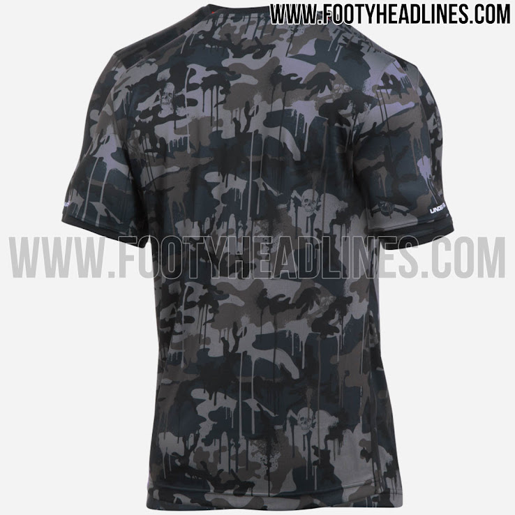 2352245c8c7 After last season s Under Armour St. Pauli 2017-2018 third jersey featured  a skull print on the front