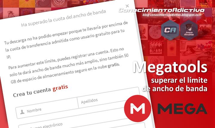 Megatools: Descargar de Mega.nz desde un terminal y superar el límite del ancho de banda