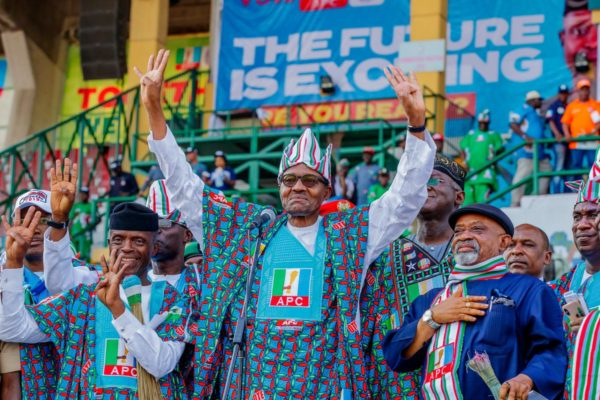 Muhammadu Buhari declared winner of 2019 Presidential election