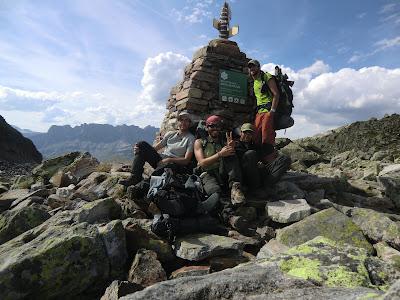 Col de la Glacière Tour del Mont Blanc