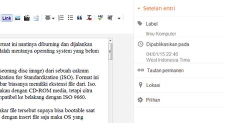 Mengaktifkan deskripsi penelusuran blogger