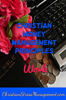 Christian money management Work
