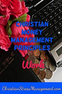 Christian money management Work