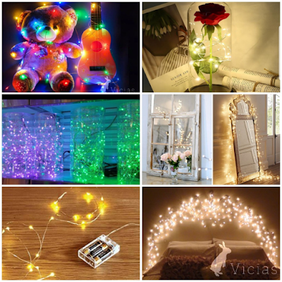 Wire LED String Lights Waterproof (Battery Operated)
