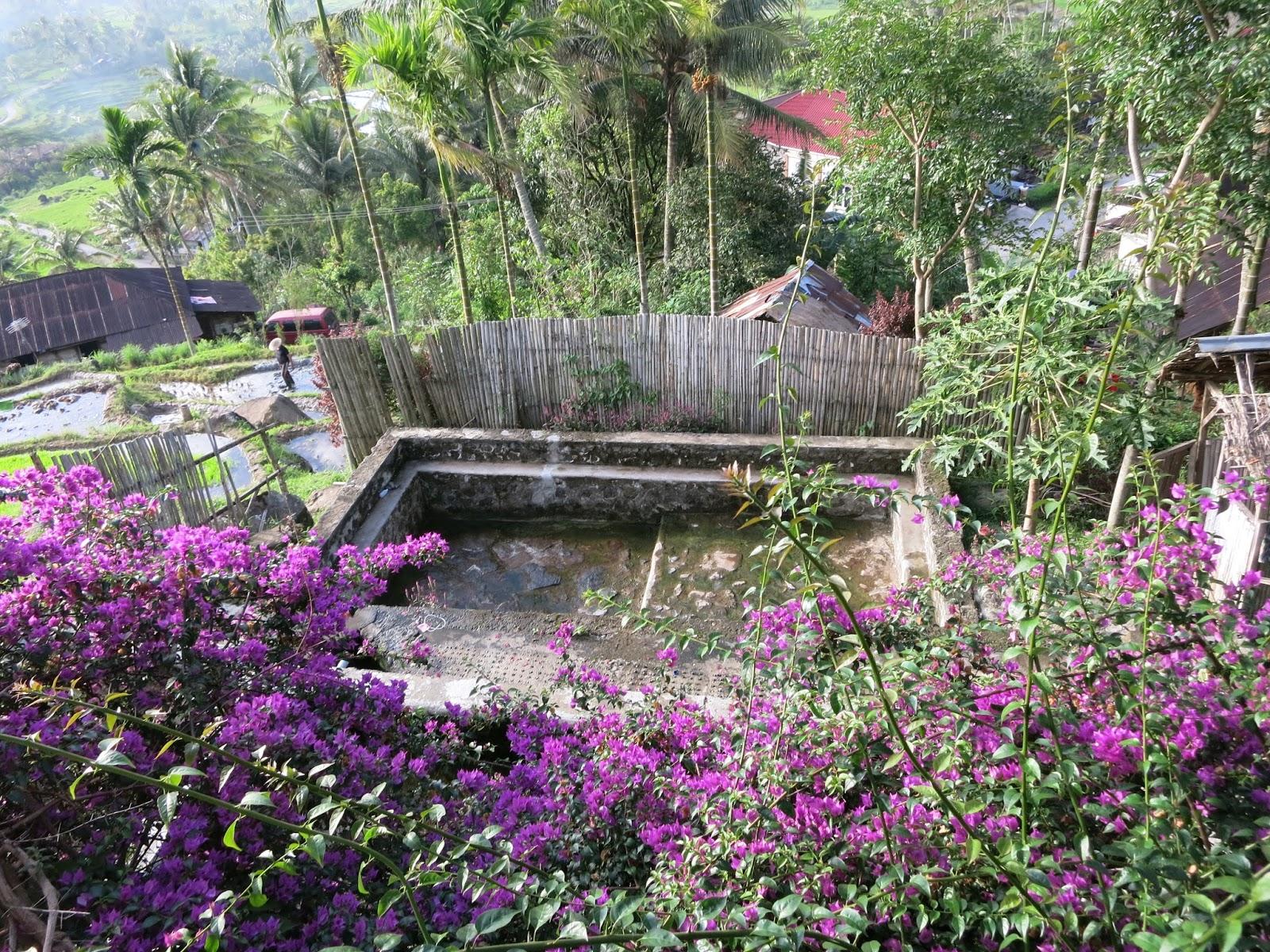 Tempat Berupa Cottage pemandian air panas privasi bukik gadang
