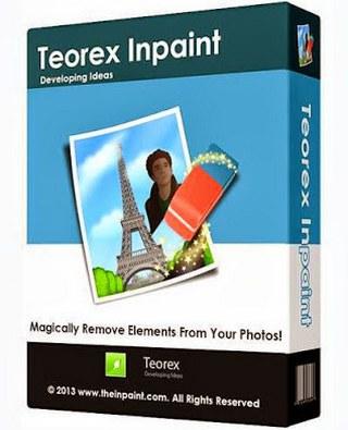 برنامج Teorex Inpaint لـ مسح الكتابة من الصور للكمبيوتر وللايفون