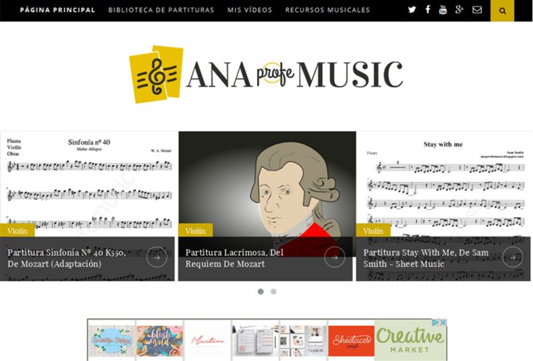 blog ana profe music
