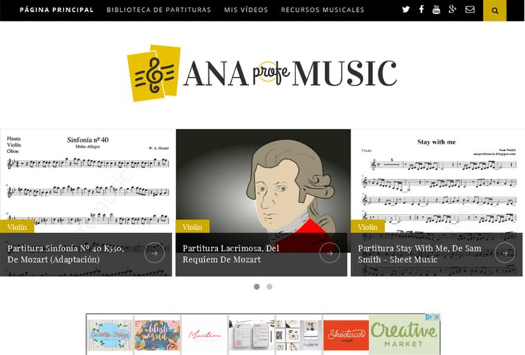 blog ana profe music