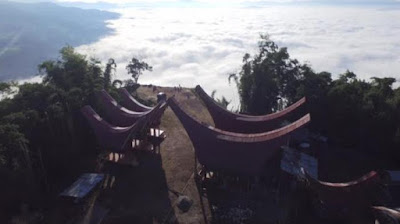 Tongkonan Lempe, Wisata Lolai Toraja Utara