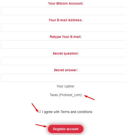 Регистрация в Largo Bit 2