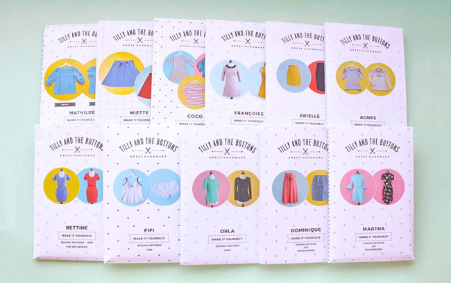 Tilly and the Buttons sewing patterns