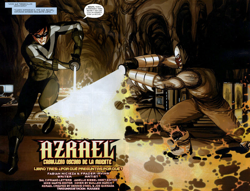 COMIC BOOK FAN AND LOVER: AZRAEL: CABALLERO OSCURO DE LA MUERTE - DC ...