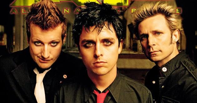 10 Lagu Terbaik dan Terpopuler Green Day