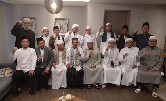 Ustadz Somad Angkat Bicara Soal Pertemuannya dengan GNPF Ulama di Palembang