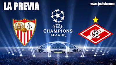 Previa Sevilla FC - Spartak de Moscú