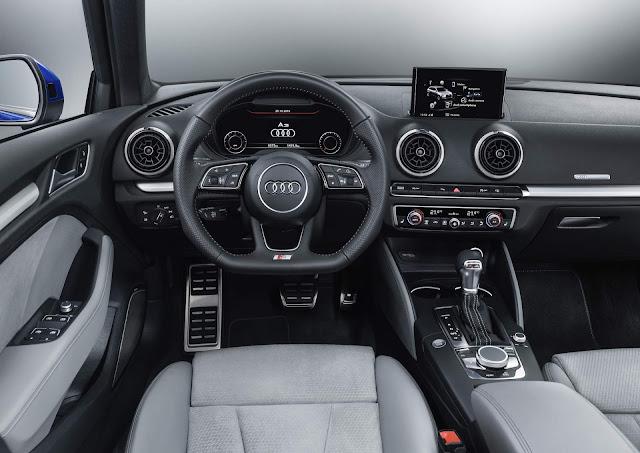 Audi A3 de terceira geração - interior