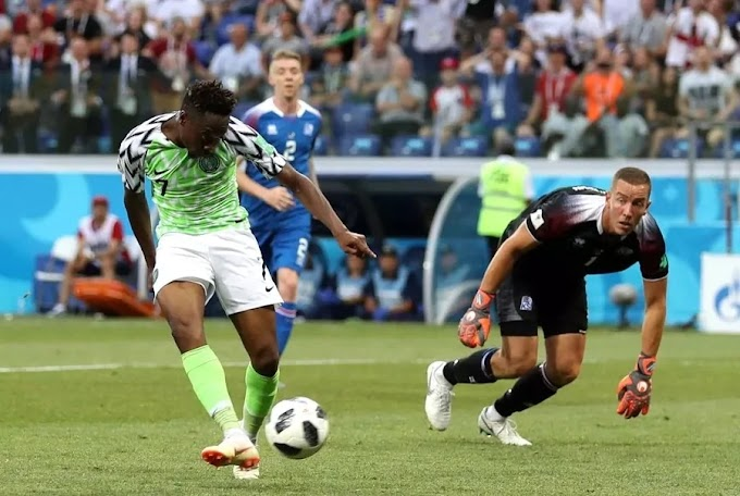Russia 2018: Ahmed Musa's goal nominated for Goal of the Tournament