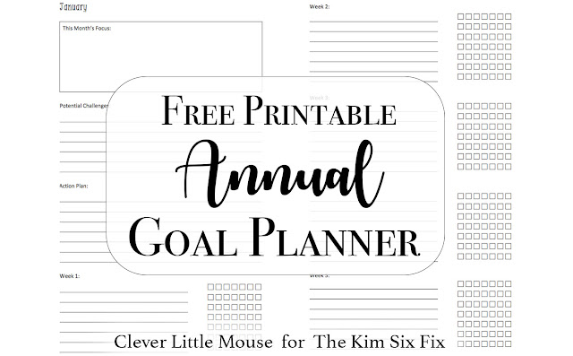 Free Printable Annual Goal Setting Worksheets. What a