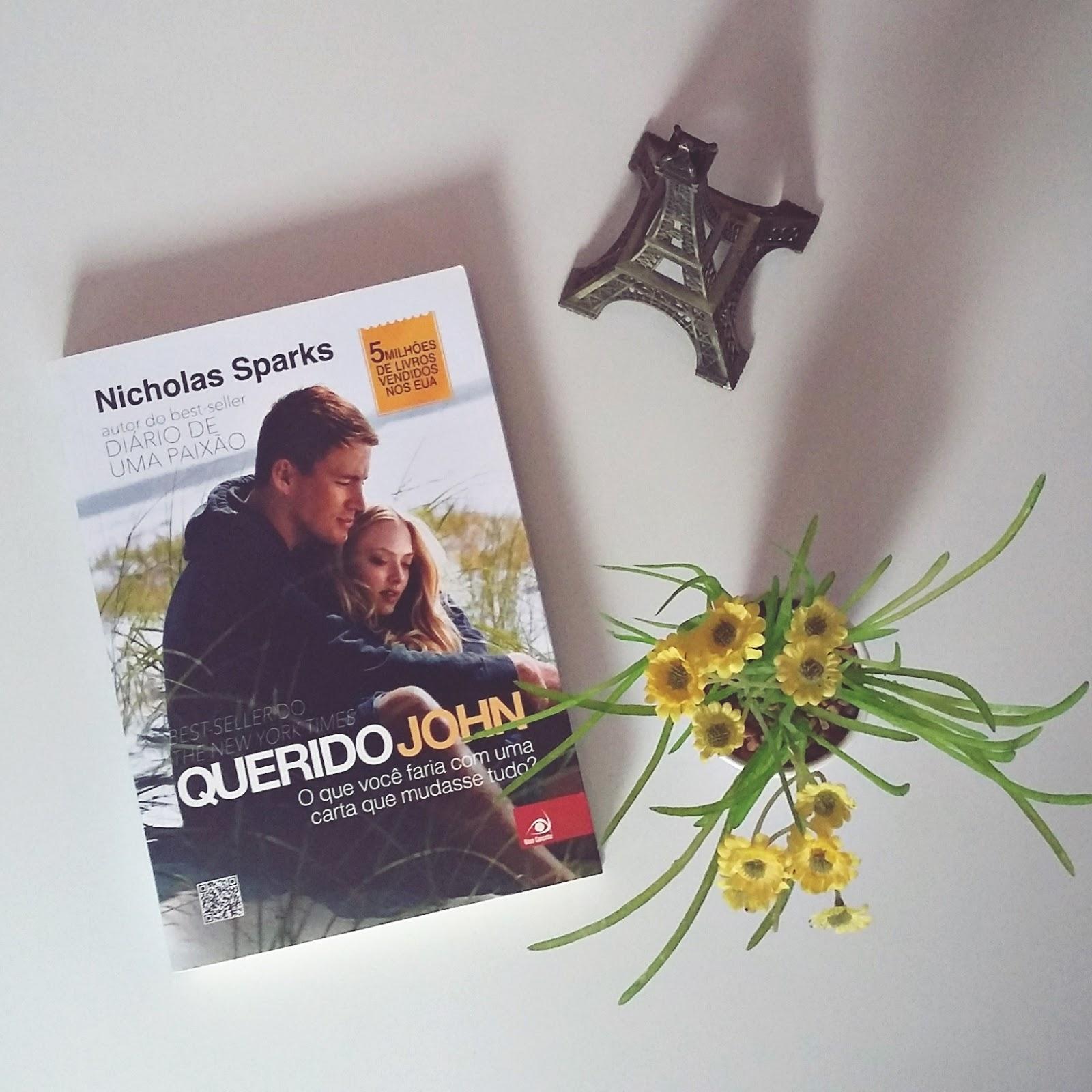 RESENHA DO LIVRO DEAR JOHN | QUERIDO JOHN