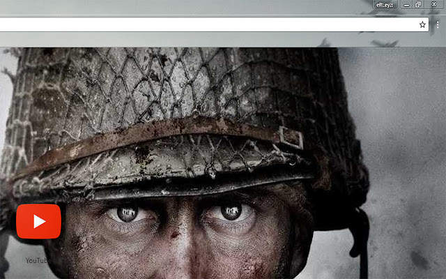 COD WWII Looking Death in the Eye Theme FOR Chrome