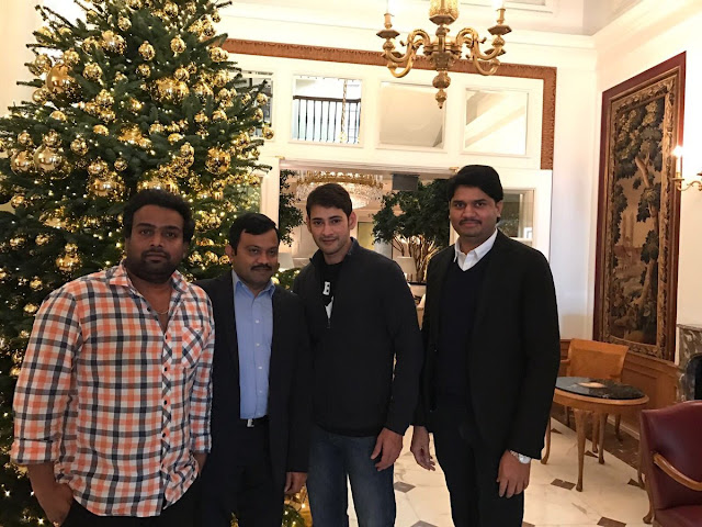 Mahesh babu Christmas Holiday Celebrations