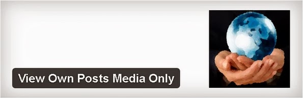 View Own Posts Media Only plugin for WordPress