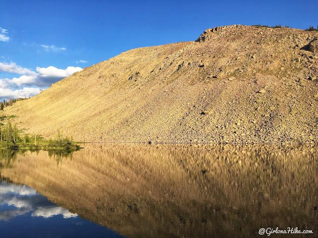 Backpacking the Shingle Creek Trail, Uintas, South Erickson Lake