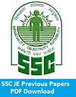 SSC JE Previous Papers PDF Download