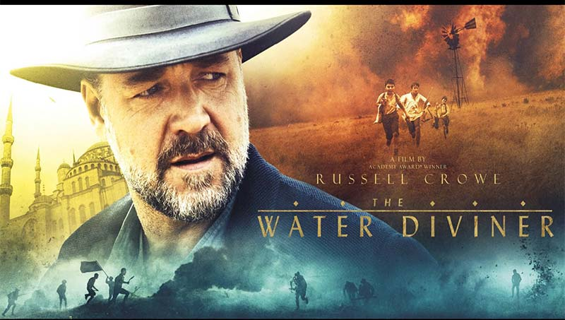 The Water Diviner 2014 Hindi 720p BluRay Dual Audio Movie Poster