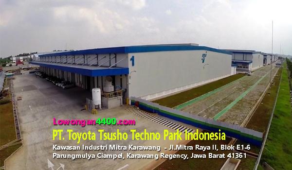 Lowongan Kerja PT. Toyota Tsusho Techno Park Indonesia