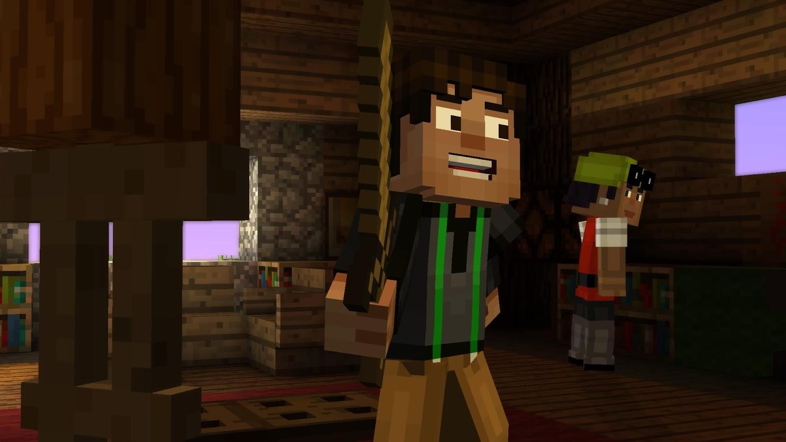 West Coast Nerd Corps Spoiler Mode Minecraft Story Mode