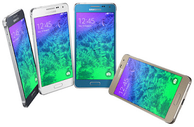 Samsung Galaxy Alpha (S801) Specifications - LAUNCH Announced 2014, August Versions G850A for AT&T G850W for Canada G8508S for East & Southeast Asia DISPLAY Type Super AMOLED capacitive touchscreen, 16M colors Size 4.7 inches (~70.2% screen-to-body ratio) Resolution 720 x 1280 pixels (~312 ppi pixel density) Multitouch Yes Protection Corning Gorilla Glass 4 BODY Dimensions 132.4 x 65.5 x 6.7 mm (5.21 x 2.58 x 0.26 in) Weight 115 g (4.06 oz) SIM Nano-SIM PLATFORM OS Android OS, v4.4.4 (KitKat), planned upgrade to v5.0 (Lollipop) CPU Quad-core 2.5 GHz Krait 400 Chipset Qualcomm MSM8974AC Snapdragon 801 GPU Adreno 330 MEMORY Card slot No Internal 32 GB, 2 GB RAM CAMERA Primary 12 MP, f/2.2, 31mm, phase detection autofocus, LED flash Secondary 2.1 MP Features Geo-tagging, touch focus, face/smile detection, panorama, HDR Video 2160p@30fps, 1080p@60fps, 720p@120fps NETWORK Technology GSM / HSPA / LTE 2G bands GSM 850 / 900 / 1800 / 1900 3G bands HSDPA 850 / 900 / 1900 / 2100 TD-SCDMA    HSDPA 850 / 1900 / 2100 - G850A, SM-G850W 4G bands LTE band 1(2100), 3(1800), 7(2600), 38(2600), 39(1900), 40(2300), 41(2500) - G8508S    LTE band 1(2100), 2(1900), 3(1800), 4(1700/2100), 5(850), 7(2600), 17(700) - G850A, SM-G850W Speed 42.2/5.76 Mbps, LTE Cat4 150/50 Mbps GPRS Yes EDGE Yes COMMS WLAN Wi-Fi 802.11 a/b/g/n/ac, dual-band, Wi-Fi Direct, hotspot NFC Yes GPS Yes, with A-GPS, GLONASS, BDS USB microUSB v2.0 Radio No Bluetooth v4.0, A2DP, EDR, LE FEATURES Sensors Fingerprint, accelerometer, gyro, proximity, compass, heart rate Messaging SMS(threaded view), MMS, Email, Push Mail, IM Browser HTML5 Java No SOUND Alert types Vibration; MP3, WAV ringtones Loudspeaker Yes 3.5mm jack Yes  - Active noise cancellation with dedicated mic BATTERY  Removable Li-Ion 1860 mAh battery Stand-by Up to 312 h (3G) Talk time Up to 13 h (3G) Music play Up to 59 h MISC Colors Charcoal Black, Sleek Silver, Dazzling White, Frosted Gold, Scuba Blue SAR US 1.25 W/kg (head)     1.05 W/kg (body)    SAR EU 0.40 W/kg (head)     0.27 W/kg (body)    - ANT+ support - Dropbox (50 GB cloud storage) - MP4/WMV/H.264 player - MP3/WAV/WMA/eAAC+/FLAC player - Photo/video editor - Document viewer