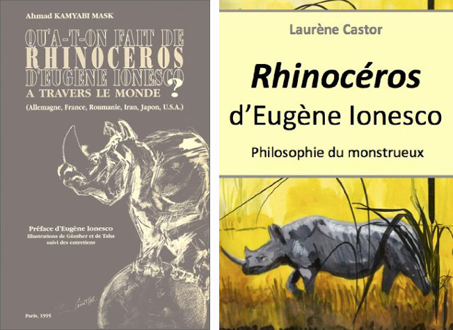sartes criticism of blind conformity in the play rhinoceros by eugene ionesco The malady of conformity which knows no bounds  to say eugene ionesco is  complex is an understatement  (ripe with socio-political upheaval) he had  ample fodder and freedom for critical exploration he describes his play,  rhinoceros, as a response to fascism and its contribution to the growth of the.