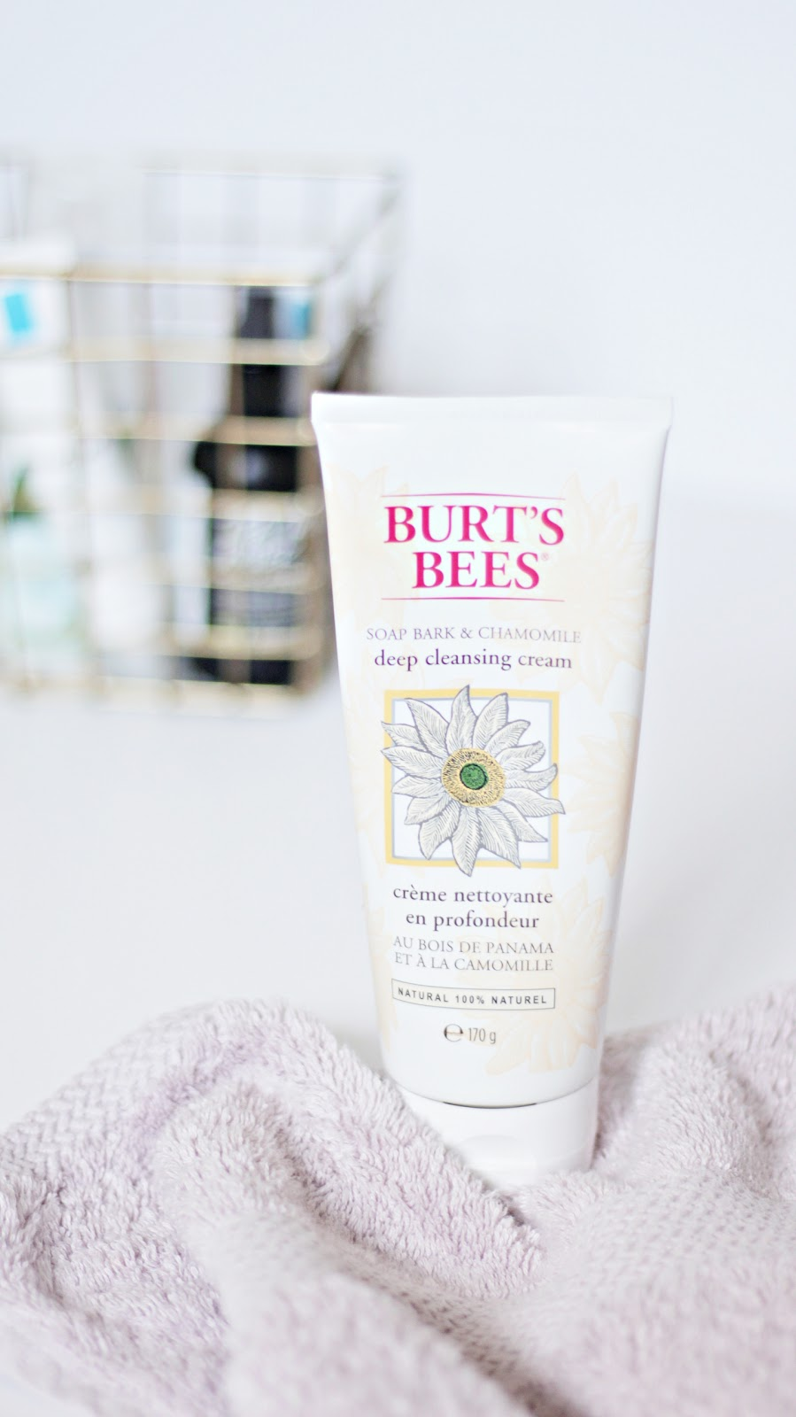 burt's bees deep cleansing cream