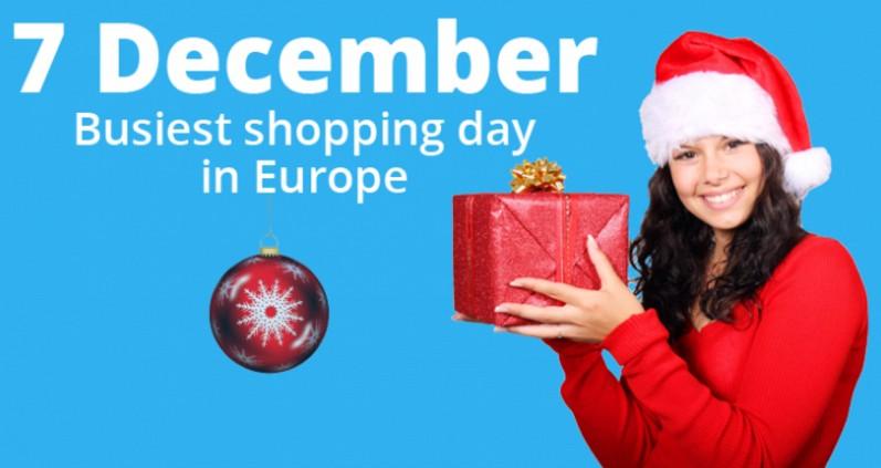 中國有雙11購物,美國有11/30的CyberMonday,那歐洲網路購物最忙的是那一天呢?