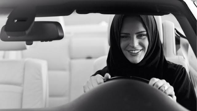 Saudi women can drive without being punished after 60 years of unwritten ban
