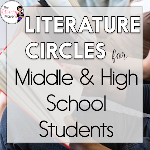 12 Activities To Use During Literature Circles Or Your Next Novel
