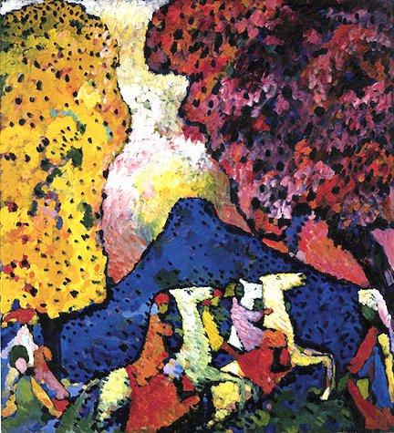 Vasilij Vasiljevič Kandinski - Page 4 Wassily+Kandinsky+-+Tutt%2527Art%2540+%25284%2529